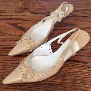 Chanel sling back shoe